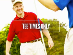 If you've already got accommodations, click here to secure tee times only