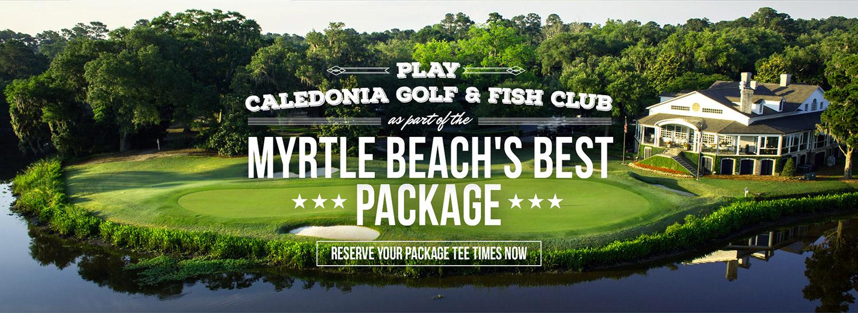 Caledonia golf fish club myrtle beach golf packagers for Caledonia golf fish club