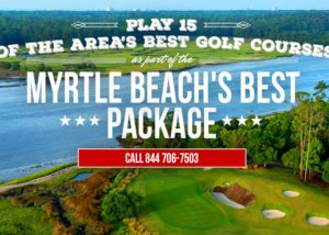 Play 15 of the best golf courses in Myrtle Beach