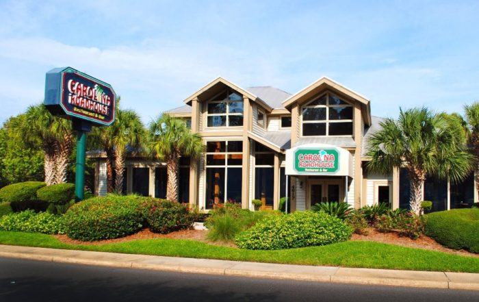 Carolina Roadhouse among Brian Noblin's Top 3 Restaurants in Myrtle Beach