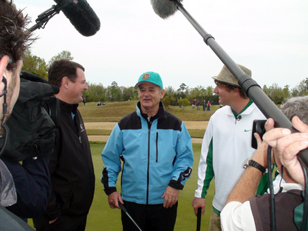 Bill Murray at Monday After the Masters in Myrtle Beach
